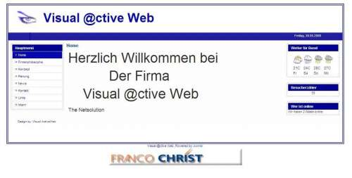 Visual Active Web